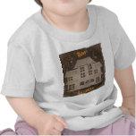 Casa encantada antigua camisetas