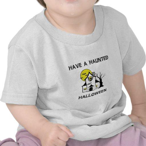 Casa encantada camisetas