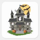 Casa encantada de Halloween Colcomania Cuadrada
