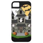 Casa encantada de Halloween iPhone 5 Case-Mate Carcasas
