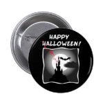 Casa encantada de Halloween Pin