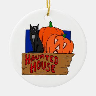 Casa encantada ornamento de reyes magos