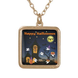 Casa encantada del feliz Halloween Joyerías