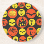 Casa encantada del modelo de lunar de Halloween de Posavasos Manualidades