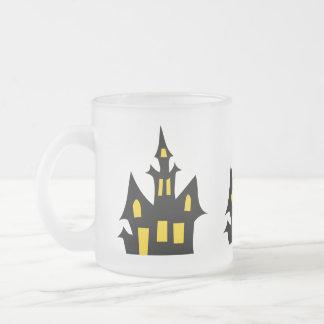 Casa encantada - diversión de Halloween Taza Cristal Mate