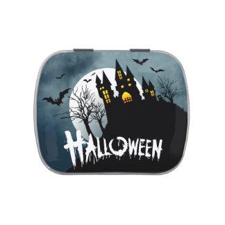 Casa encantada en una colina Spooktacular Hallowee Jarrones De Caramelos