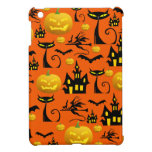 Casa encantada fantasmagórica de Halloween con el  iPad Mini Protector