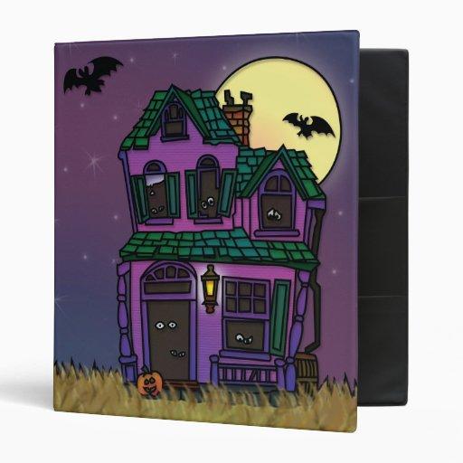 Casa encantada fantasmagórica de Halloween del tru