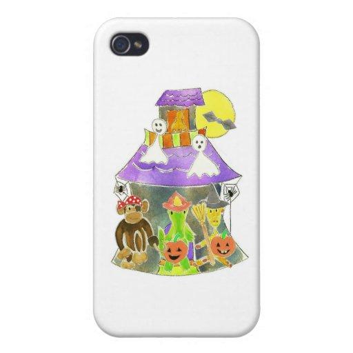 Casa encantada iPhone 4 funda
