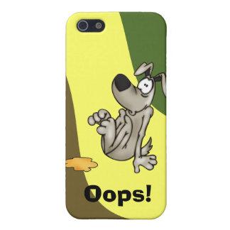 Casa-entrenamiento un perro del dibujo animado iPhone 5 protectores