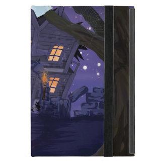 Casa espeluznante iPad mini coberturas