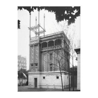 Casa fenicia, exposición universal, París Lona Estirada Galerias