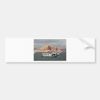 Casa flotante de Powell del lago, Arizona, los Pegatina Para Coche