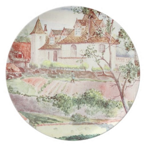Casa francesa en Omet Plato De Comida