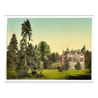Casa gótica I, parque de Worlitz, Anhalt, Alemania Tarjetas Postales