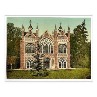 Casa gótica II, parque de Worlitz, Anhalt, Alemani Tarjetas Postales