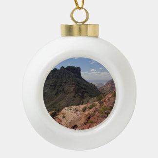Casa Grande Ceramic Ball Christmas Ornament