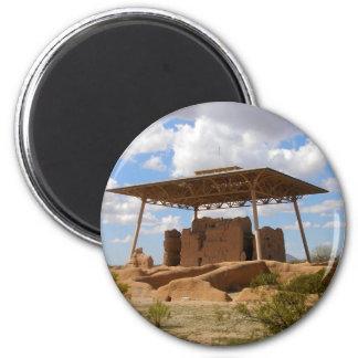 Casa Grande National Ruins 2 Inch Round Magnet
