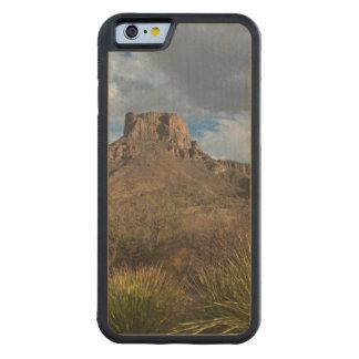 Casa Grande Peak, Chisos Basin, Big Bend Carved® Maple iPhone 6 Bumper Case