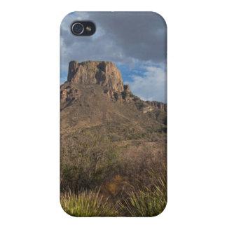Casa Grande Peak, Chisos Basin, Big Bend iPhone 4 Cover