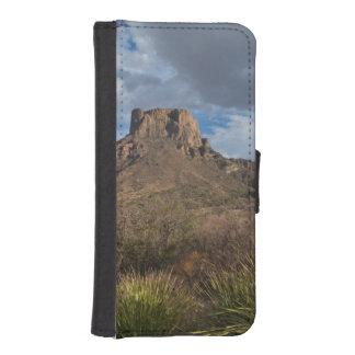 Casa Grande Peak, Chisos Basin, Big Bend iPhone SE/5/5s Wallet Case