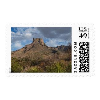 Casa Grande Peak, Chisos Basin, Big Bend Postage