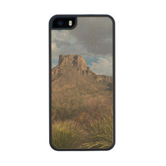 Casa Grande Peak, Chisos Basin, Big Bend Wood iPhone SE/5/5s Case