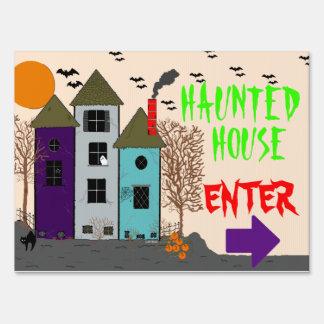 Casa Halloween-Frecuentada Señal