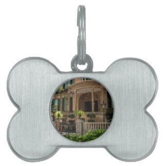 Casa histórica 2 del Victorian de Georgia de la Placas De Mascota