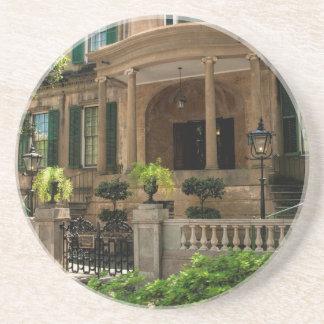 Casa histórica 2 del Victorian de Georgia de la Posavasos Cerveza