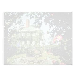 Casa histórica roja del Prescott, Kentville, Nova  Membrete Personalizado