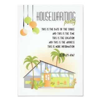 Casa ideal tropical invitación 12,7 x 17,8 cm