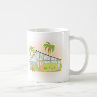 Casa ideal tropical taza