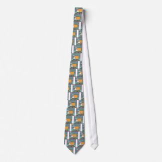 Casa inundada corbatas personalizadas