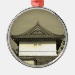 Casa japonesa ornaments para arbol de navidad