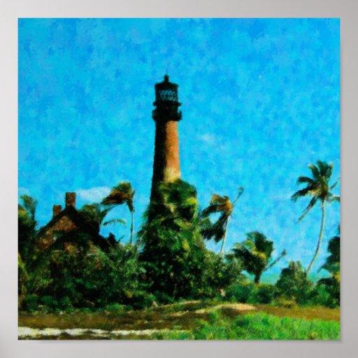 Casa ligera de la Florida del cabo Impresiones