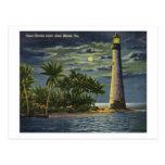 Casa ligera de la Florida del cabo, vintage de Mia Postales
