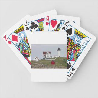 Casa ligera de la protuberancia pequeña cartas de juego