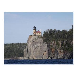 casa ligera de la roca partida tarjetas postales