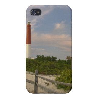 Casa ligera New Jersey los E.E.U.U. de la isla de  iPhone 4 Fundas