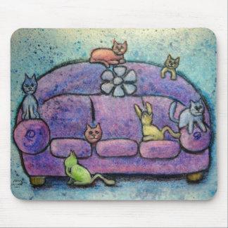 casa llena tapete de ratón
