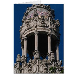 Casa Lleo Morera, Barcelona, Spain Greeting Card
