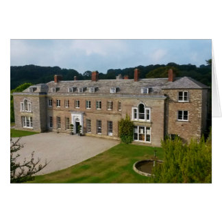 Casa Lostwithiel Cornualles Inglaterra de Boconnoc Tarjeta De Felicitación