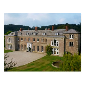 Casa Lostwithiel Cornualles Inglaterra de Boconnoc Tarjeta Postal
