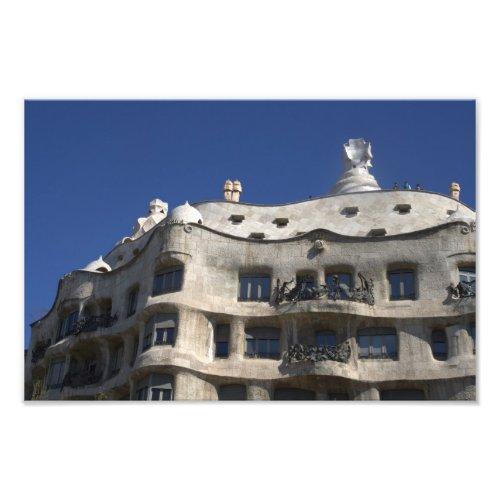 Gaudi's La Pedrera, in Barcelona