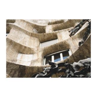 Casa Milà Galerie Faltleinwand