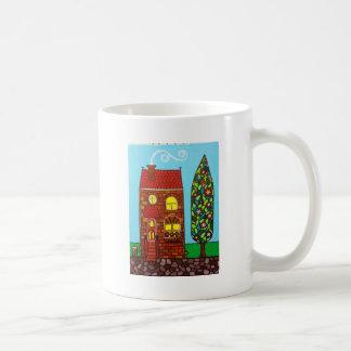 Casa minúscula taza clásica