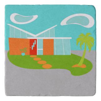 Casa moderna Trivet del dibujo animado de los Salvamanteles