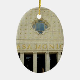 Casa Monica Ceramic Ornament