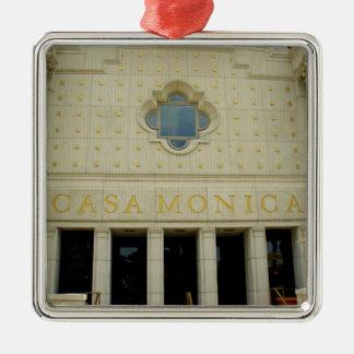 Casa Monica Metal Ornament